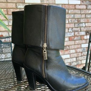 KORS by Michael KORS leather boots sz 6.5 pre worn